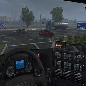 EEuro Truck Simulator 2 Conditions pluvieuses