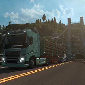 Euro Truck Simulator 2 Scandinavia DLC Camion Modèle