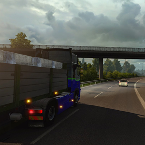 Euro Truck Simulator 2 Scandinavia DLC Autoroute