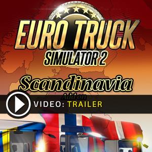 Acheter Euro Truck Simulator 2 Scandinavia DLC Clé CD Comparateur Prix