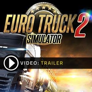 Acheter Euro Truck Simulator 2 clé CD Comparateur Prix