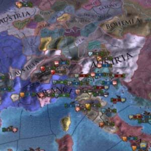 Europa Universalis IV Carte