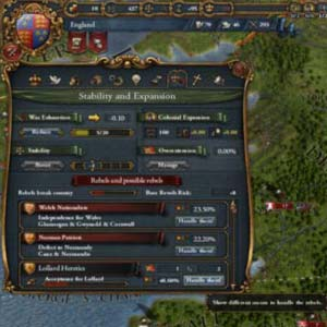Europa Universalis IV Stabilité et expansion