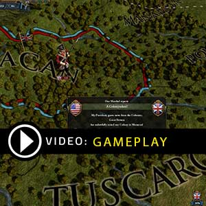 Europa Universalis 4 American Dream Gameplay Video