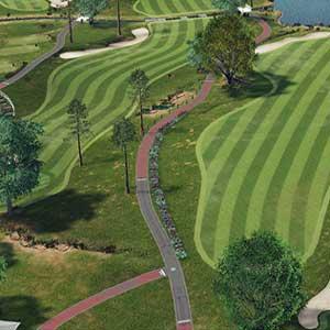 Champs de golf