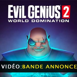 Evil Genius 2 bande-annonce vidéo