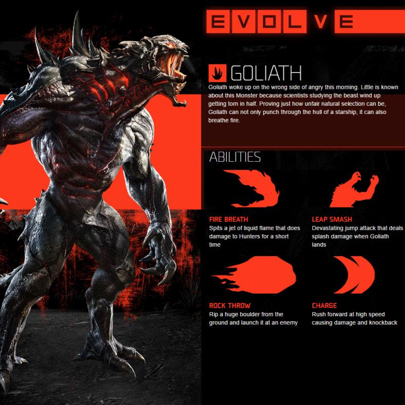 Goliath Capacités