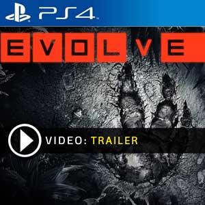 EVOLVE PS4 en boîte ou à télécharger