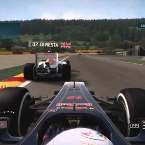 F1 2015 Vue première personne