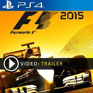 F1 2015 PS4 en boîte ou à télécharger