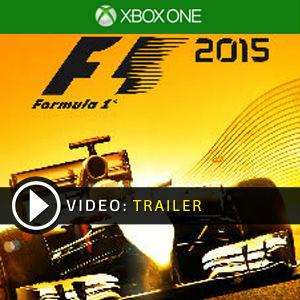 F1 2015 Xbox One en boîte ou à télécharger