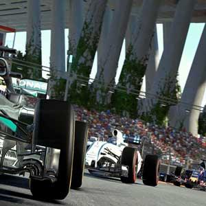 Parcours exigeants dans Formula One