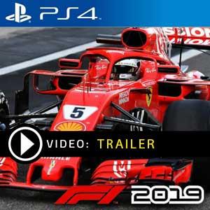 F1 2019 PS4 en boîte ou à télécharger