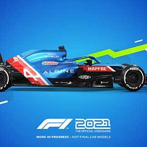 F1 2021 Alpine