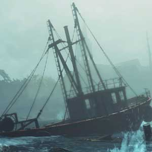 Fallout 4 Far Harbor île Côtes du Maine