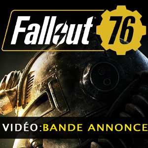 Vidéo de la bande annonce de Fallout 76