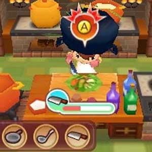 Fantasy Life Nintendo 3DS Cuisine