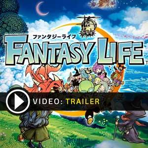 Fantasy Life Nintendo 3DS en boîte ou à télécharger