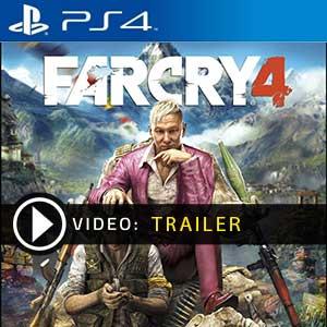 Far Cry 4 PS4 en boîte ou à télécharger