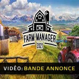 Farm Manager 2021 Bande-annonce vidéo