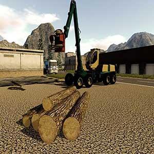 Farming 2017 The Simulation Wood Cutting Véhicule