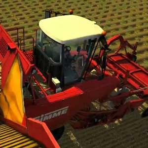 Farming Simulator 2013 moissonneuse