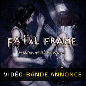 FATAL FRAME Maiden of Black Water Bande-annonce Vidéo