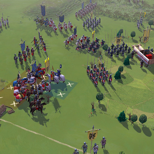 Field of Glory 2 Medieval Champs verts