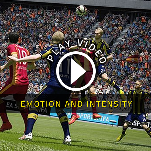 FIFA 15 PS4 Emotion et Intensité