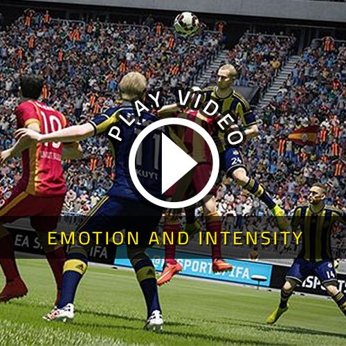 FIFA 15 Emotion et Intensité