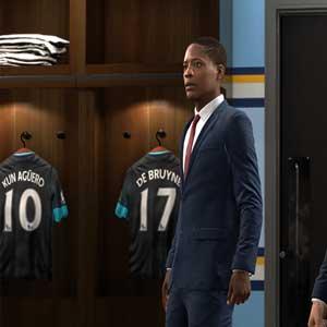 FIFA Vestiaire des joueurs
