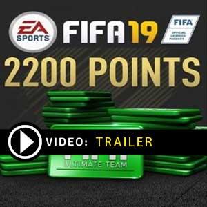 Acheter FIFA 19 2200 FUT Points Clé CD Comparateur Prix