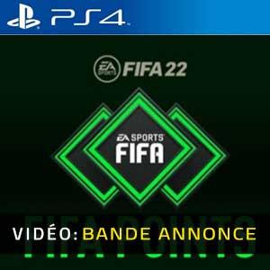 FIFA 22 FUT Points PS4 Bande-annonce Vidéo