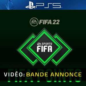 FIFA 22 FUT Points PS5 Bande-annonce Vidéo