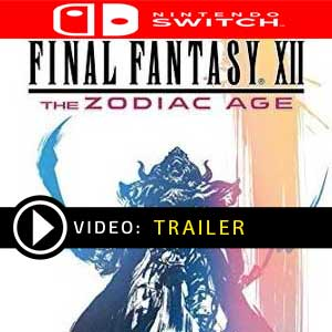 FINAL FANTASY 12 THE ZODIAC AGE Nintendo Switch en boîte ou à télécharger