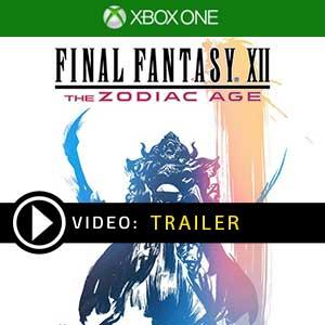 Final Fantasy 12 The Zodiac Age Xbox One en boîte ou à télécharger