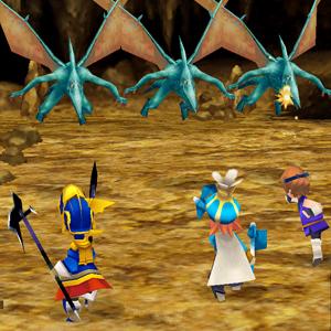 Final Fantasy 3 Combat