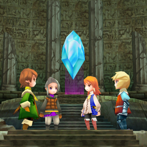 Final Fantasy 3 Personnages