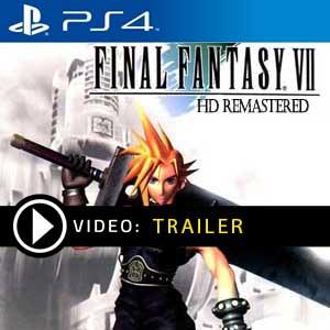 Final Fantasy 7 HD Remake Ps4 en boîte ou à télécharger