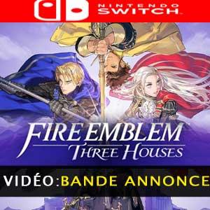 Vidéo de la bande-annonce de Fire Emblem Three Houses