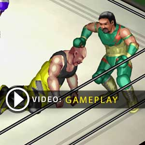 Fire Pro Wrestling World PS4 Gameplay Video