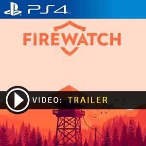 Firewatch PS4 en boîte ou à télécharger