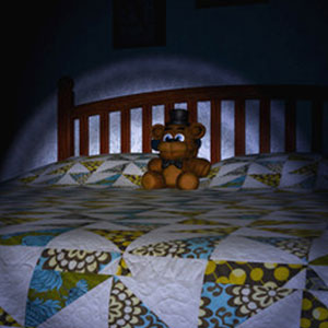 Five nights at freddys 4 - Bear Toy