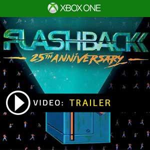 Flashback 25th Anniversary Xbox One en boîte ou à télécharger
