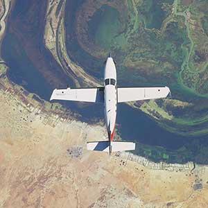 Microsoft Flight Simulator Terrain alimenté par lIA