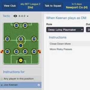 Football Manager 2014 - Statistiques du joueur