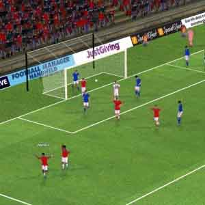 Football Manager 2015 - Le terrain