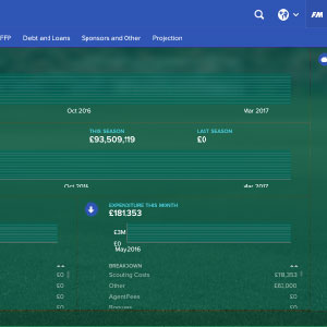 Football Manager 2017 Gameplay Image