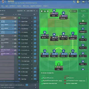 Football Manager Analyse tactique
