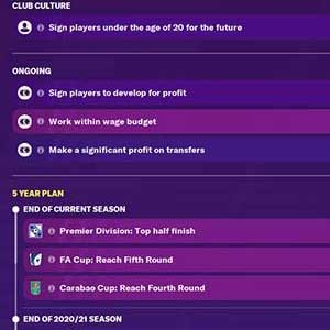 Football Manager 2021 Conseil d